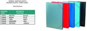 Κουτί Λάστιχο 25x25x5