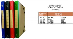 Κουτί Λάστιχο 25x33x3